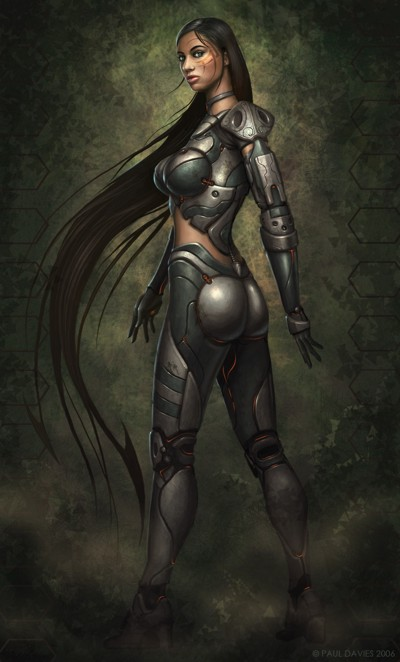 Sci-Fi girl by AyyaSAP on DeviantArt