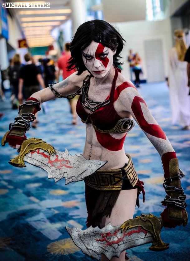 God of war kratos nude
