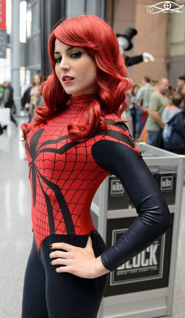 cosplay Spider-woman