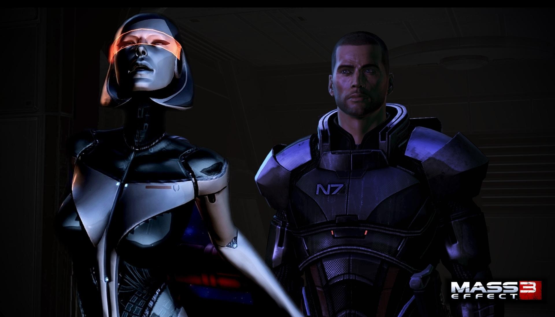 Sexy EDI Wallpaper from Mass Effect 3