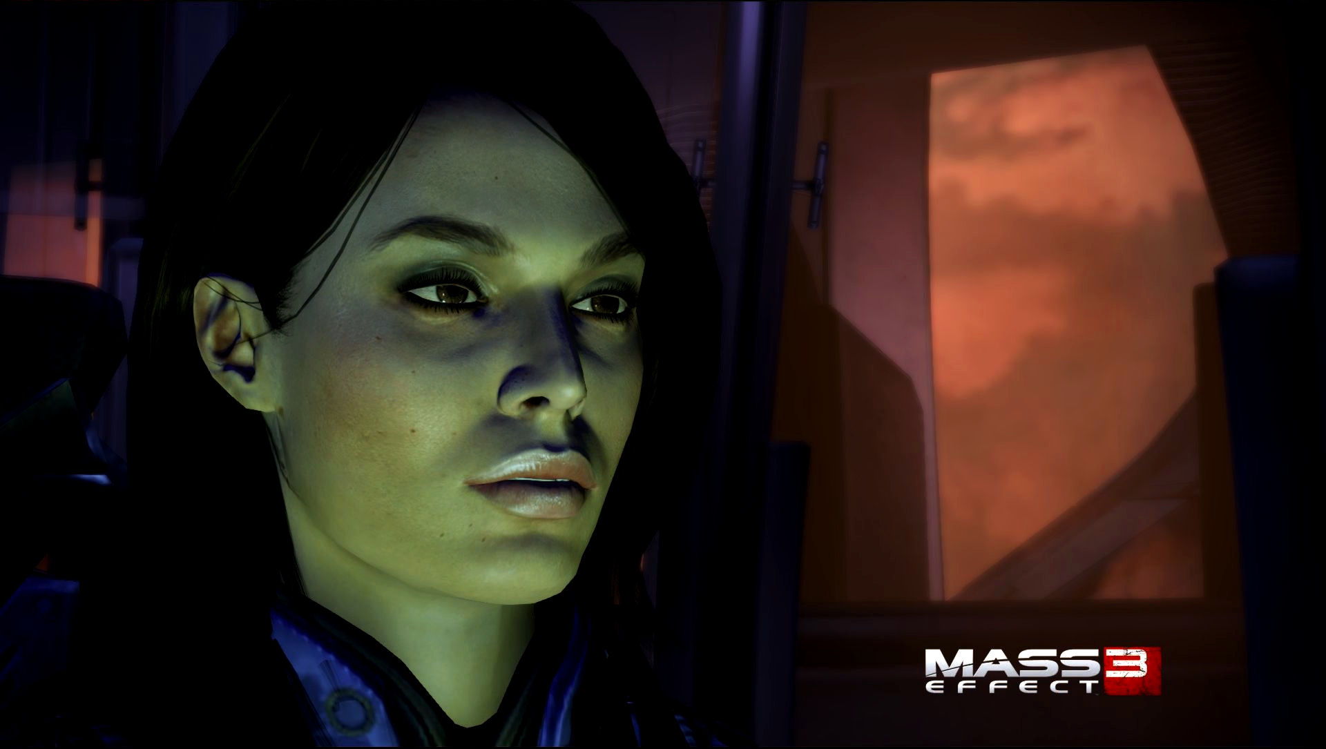 Three Sexy Ashley Williams Screenshot Wallpapers From Me3