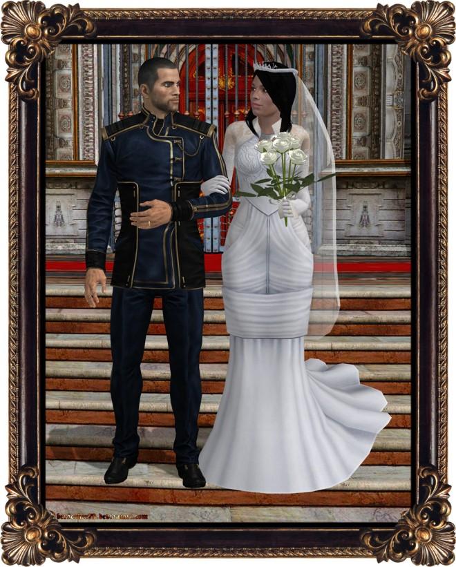 Quest Near Me >> Commander Shepard Wedding Photo