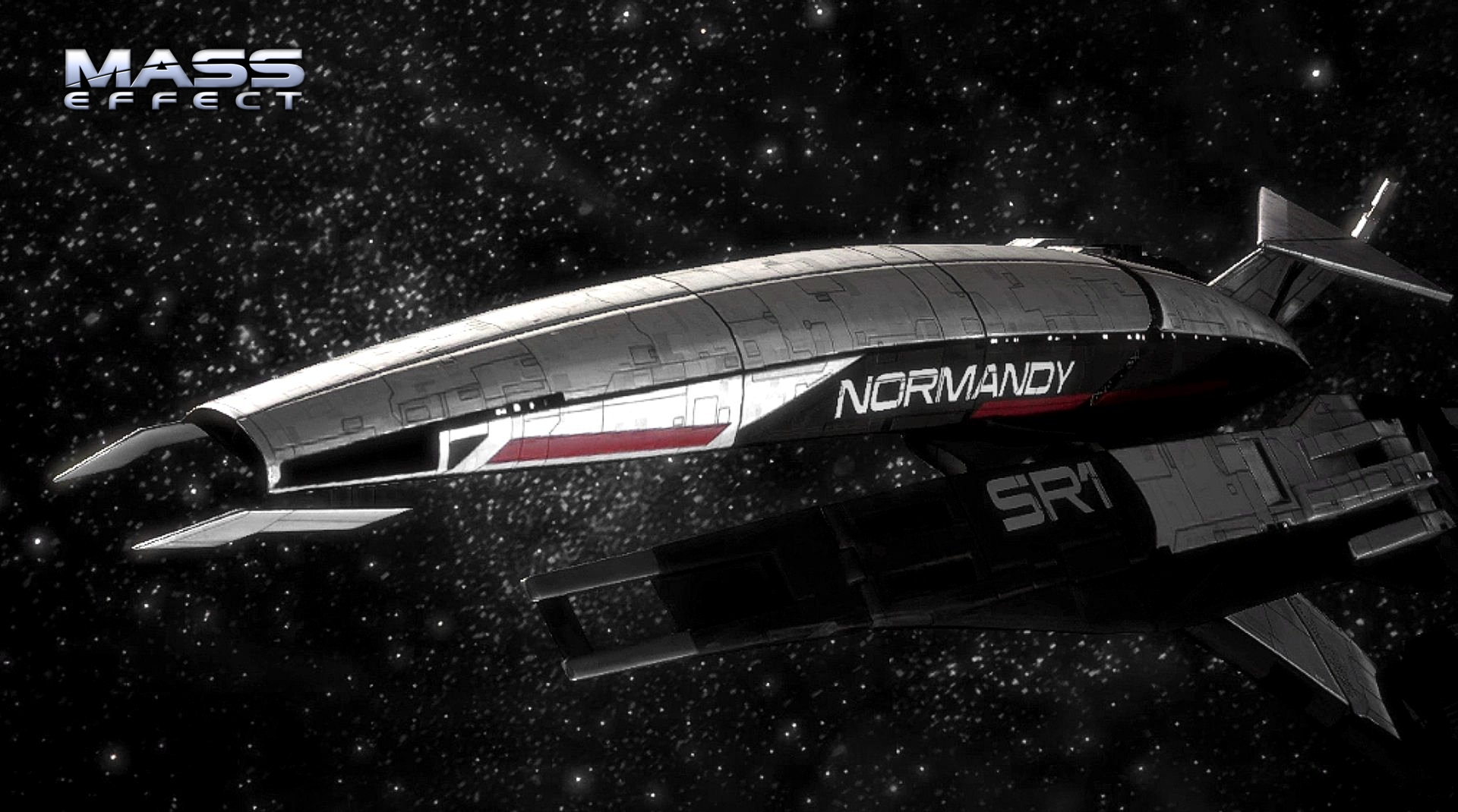 Mass Effect 1 Normandy SR1 Wallpaper
