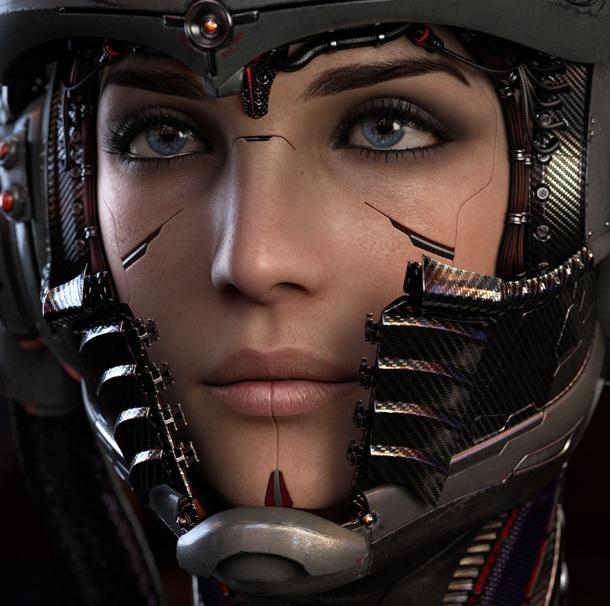 Im here - Kaidan Alenko and Jack {Mass Effect} by