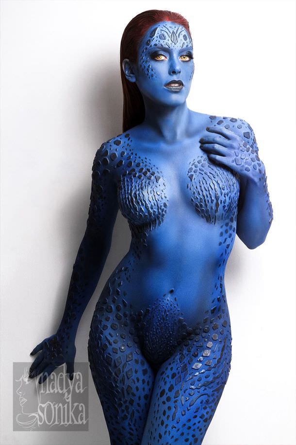 Gtrat Mystique Cosplay by Nadya Anton of Mexico.