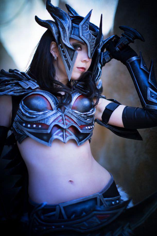 skyrim daedric armor  svetlana quindt 610 x 914 · jpeg