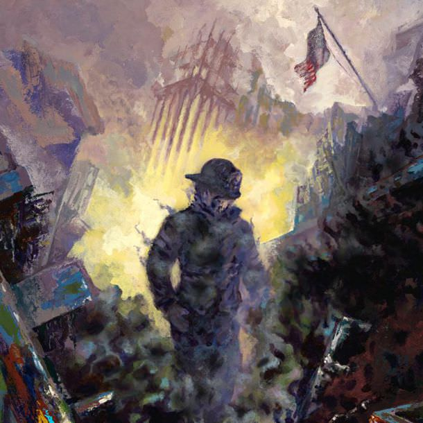 sept 11 artwork remembering 911 by tom hutchinson