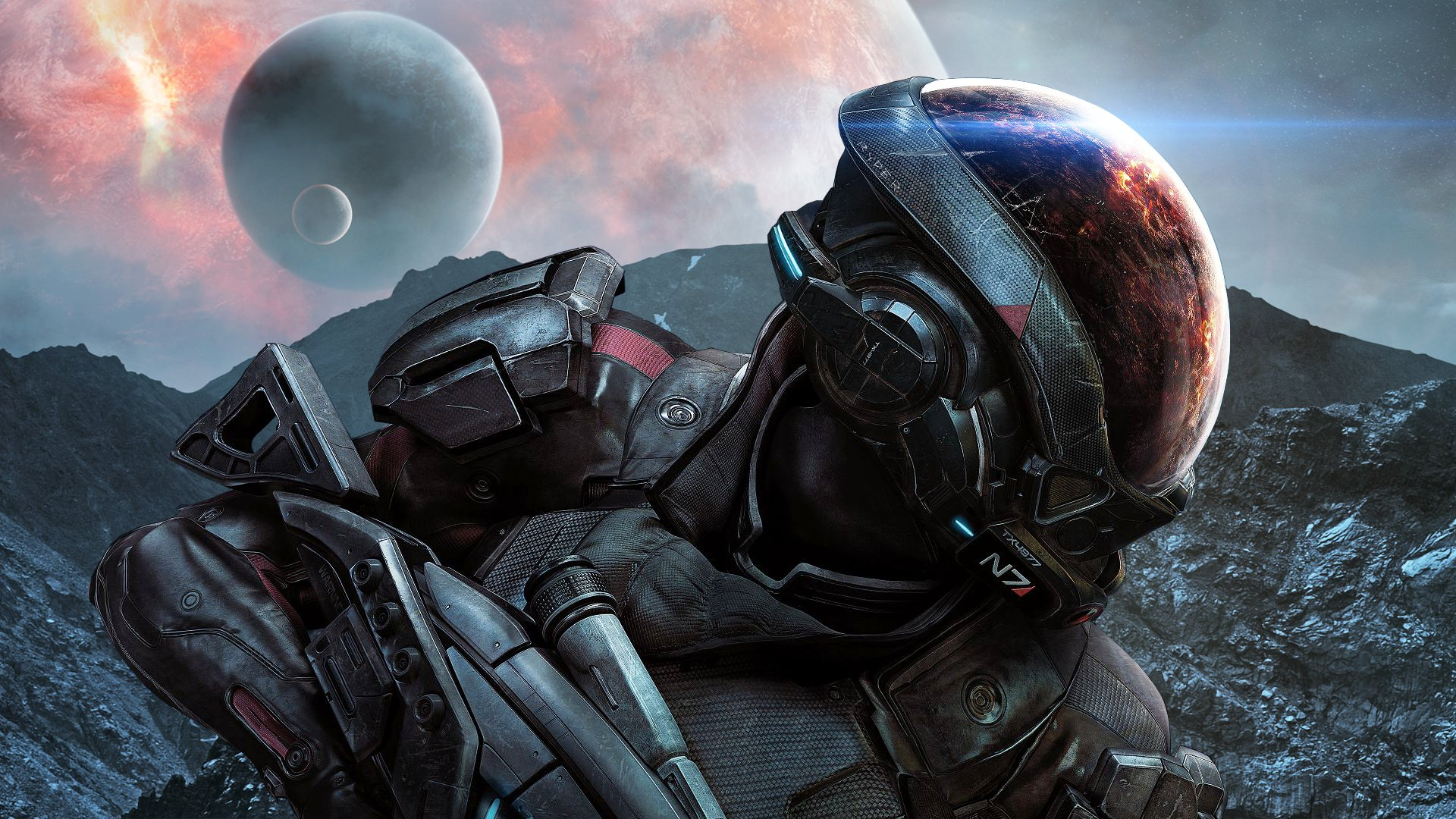 Mass Effect Andromeda Ryder Wallpaper